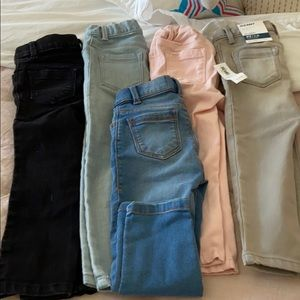 5 pairs 3T Old Navy Jeans